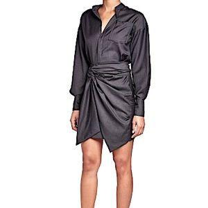 ISABEL MARANT Etoile Wool Check NOLA Dress 40 US8